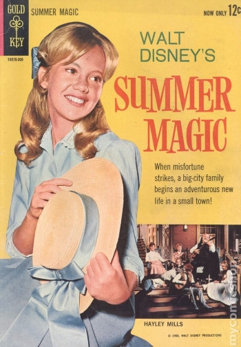 Comic book adaptation of Summer Magic